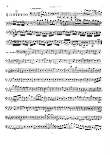 Holzbläserquintett in f-Moll, Op.99 No.2: Fagottstimme by Anton Reicha