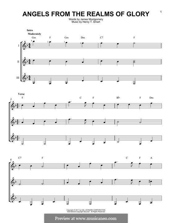 Angels, from the Realms of Glory: For any instrument by Henry Smart