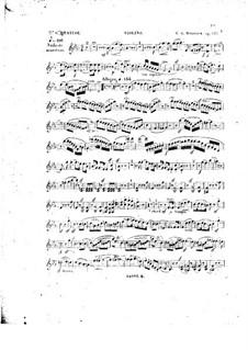 Klavierquartett Nr.5 in Es-Dur, Op.141: Violinstimme by Carl Gottlieb Reissiger