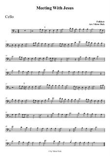 Wenn Jesus mich treffen würde: Für Cello by folklore