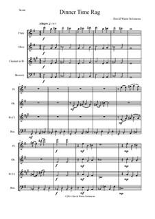 Dinner Time Rag: For wind quartet by David W Solomons