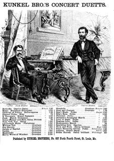 Ouvertüre: Für Klavier, vierhändig – Stimmen by Gioacchino Rossini