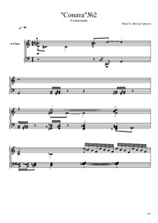 Соната No.2: Соната No.2 by Viktor Gryaznov