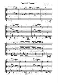 Euphonic Sounds: Für Gitarre by Scott Joplin