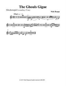 Drei Tänze für Halloween: No.3 Ghouls Gigue - glockenspiel part by Nick Raspa