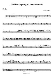 O du fröhliche: Für Cello by folklore