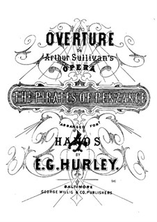 Vollständiger Oper: Ouvertüre für Klavier, vierhändig by Arthur Sullivan