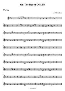 Am Strand des Lebens: Für Violine by folklore