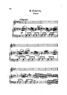 Treue: Treue by Joseph Haydn