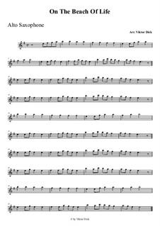 Am Strand des Lebens: Für Altsaxophon by folklore