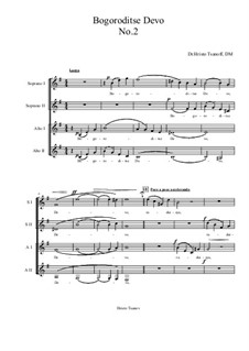 Bogoroditse Devo: Nr.2 by Christo Tsanoff