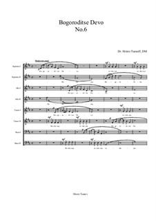 Bogoroditse Devo: Nr.6 by Christo Tsanoff