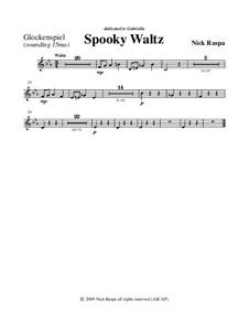 Drei Tänze für Halloween: No.1 Spooky Waltz - glockenspiel part by Nick Raspa