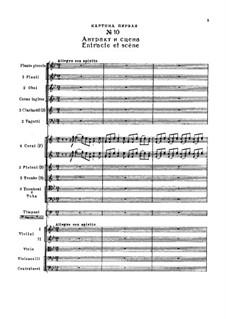 Fragmente: Akt II, Nr.10 Entracte et Scène by Pjotr Tschaikowski