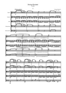 String Quintet in F minor: Vollpartitur, Stimmen by Alexander Porfiryevich Borodin