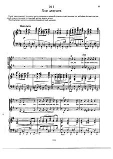 Die Jungfrau von Orleans, TH 6: Akt I by Pjotr Tschaikowski