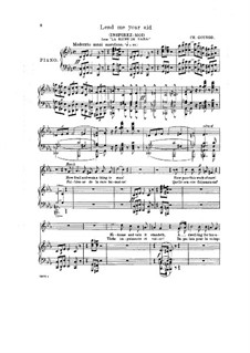 Die Königin von Saba: Inspirez-moi (Lend Me Your Aid), for Voice and Piano by Charles Gounod