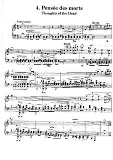 Poetische und religiöse Harmonies, S.173: No.4 In Memory of the Dead by Franz Liszt