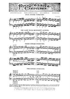 Four-Finger Exercises for Piano: Four-Finger Exercises for Piano by Leopold Godowsky