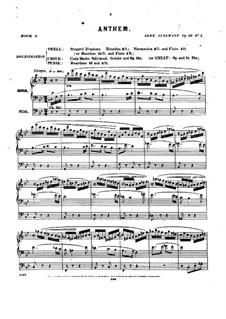 Pièces dans different styles for Organ: Heft 9, Op.33 by Alexandre Guilmant
