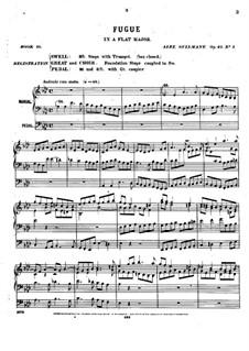 Pièces dans different styles for Organ: Heft 10, Op.40 by Alexandre Guilmant