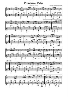 Presslahner Polka: Für Altflöte und Gitarre by folklore