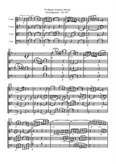 Streichquartett Nr.14 in G-Dur, K.387: Vollpartitur by Wolfgang Amadeus Mozart