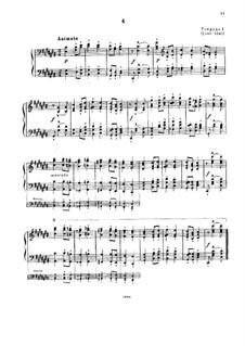 Ungarischen nationale Melodien, S.242: Nr.4 in Cis-Dur by Franz Liszt