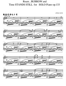 2 Bucolics for Solo Piano, Op.133: 2 Bucolics for Solo Piano by John Martin III
