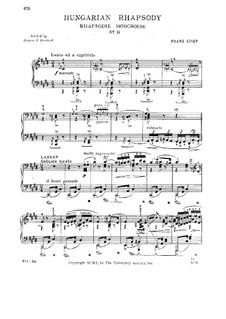 Nr.2 in cis-Moll, S.244: Für Klavier by Franz Liszt