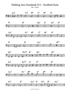 Yardbird Suite Lesson: Exercise 1: The '2 Feel' by Jared Plane
