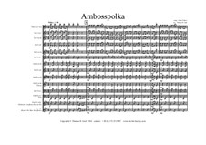 Amboss Polka: For trio by Albert Parlow