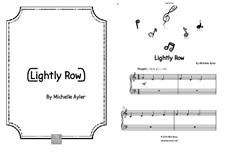 Lightly Row (Beginner): Lightly Row (Beginner) by MEA Music