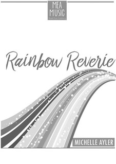 Rainbow Reverie (Easy Piano Solo): Rainbow Reverie (Easy Piano Solo) by MEA Music