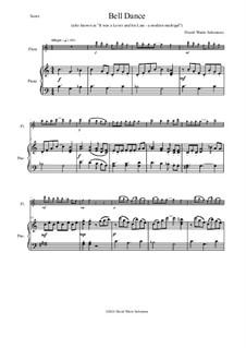 Bell Dance: Für Flöte und Piano by David W Solomons