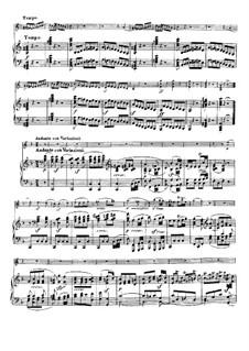 Sonate für Violine und Klavier Nr.9 'Kreutzer', Op.47: Teil II by Ludwig van Beethoven