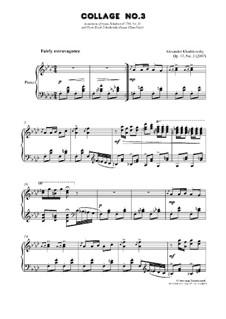 Collage No.3, Op.47: Collage No.3 by Alexander Khodakovsky