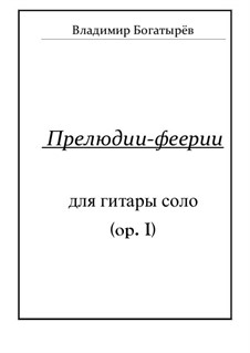 Preludes extravaganza, Op.1: Preludes extravaganza by Vladimir Bogatyrev
