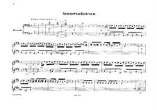 Ein Sommernachtstraum, Op.21: Ouvertüre, für Klavier, vierhändig by Felix Mendelssohn-Bartholdy
