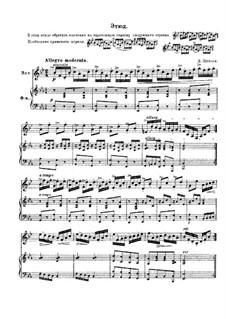 Etüde in Es-Dur, für Horn und Klavier: Etüde in Es-Dur, für Horn und Klavier by Domenico Zipoli