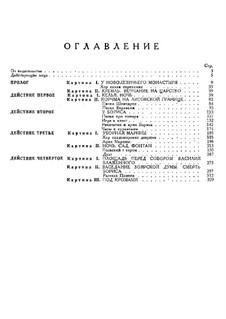 Fragmente: Prolog. Version für Stimmen und Klavier by Modest Mussorgski