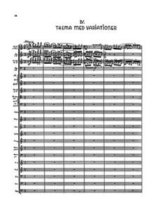 Sinfonie Nr.6 'Semplice', FS 116: Teil IV by Carl Nielsen