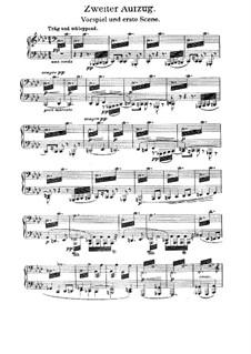 Siegfried, WWV 86c: AKt II, für Stimmen und Klavier by Richard Wagner