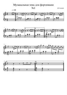 Musical theme No.1: Musical theme No.1 by Dmitri Solovyov