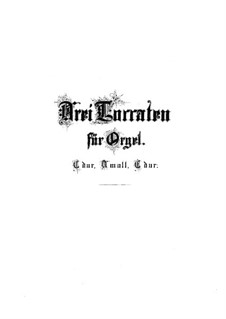 Toccata, Adagio und Fuge in C-Dur, BWV 564: Für Orgel by Johann Sebastian Bach