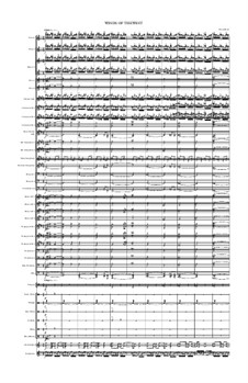 Winds Of The West for Symphonic Band: Winds Of The West for Symphonic Band by Shawn Harris