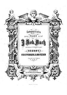 Goldberg-Variationen, BWV 988: Bearbeitung für Klavier von C. Czerny by Johann Sebastian Bach