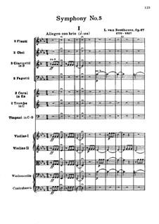 Teil I: Partitur by Ludwig van Beethoven