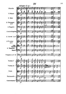 Teil IV: Partitur by Ludwig van Beethoven