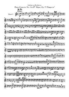 Vollständiger Konzert: Hörnerstimmen by Ludwig van Beethoven